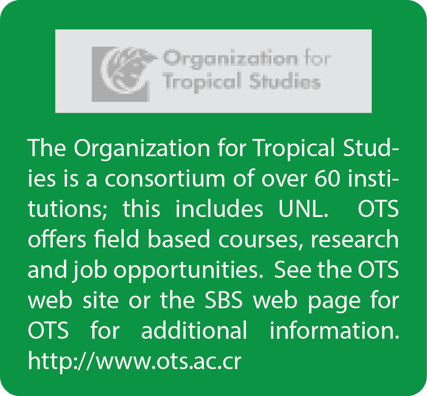 Organization for Tropical Studies logo and link to OTS website