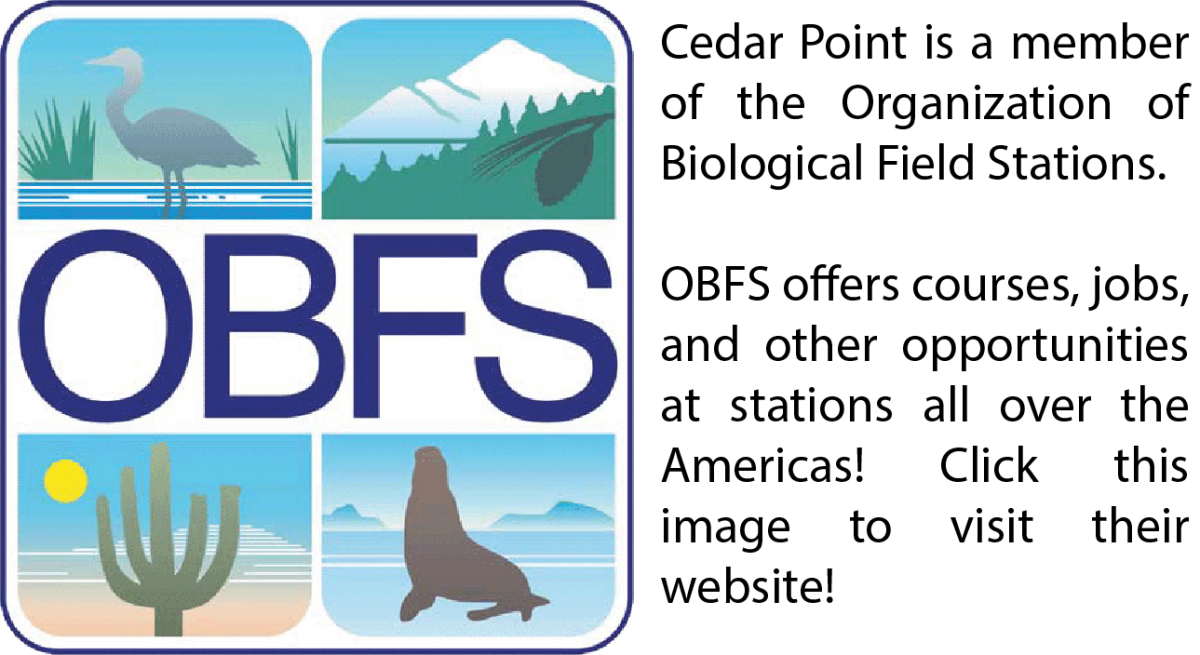 Organization of Biological Field Stations logo and link to OBFS website